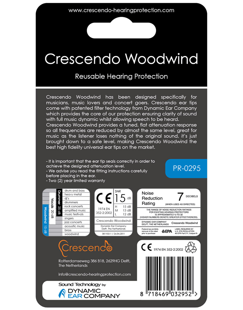 CRESCENDO-DM-Woodwind-15-Ear-Protection-Hoerschutz