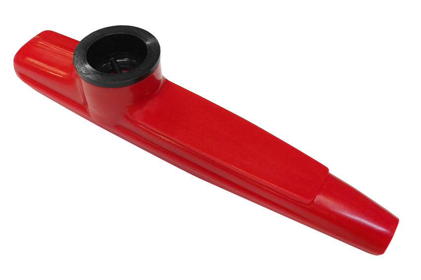 Aluminiumlegierung Kazoo Mit Membran Rot G4Z1