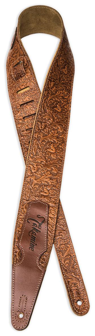 Braun Durchsichtig In Sicht Verantwortlich Takamine Tks317f Leather Ledergurt 70mm Akustische Gitarren