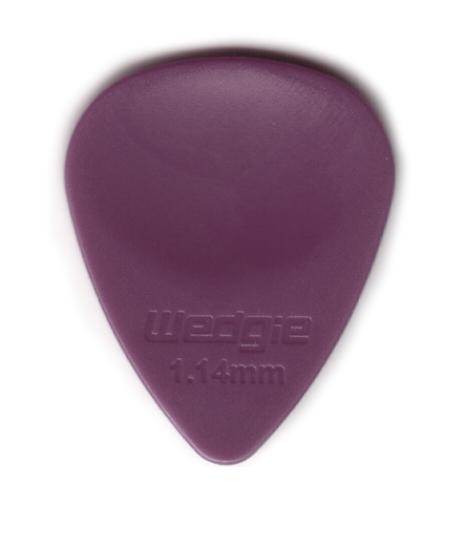 WEDGIE Delrin EX Plektrum 1,14mm violett