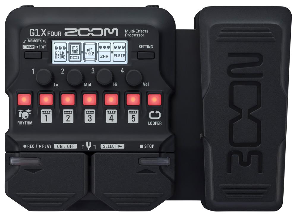 Zoom G1X FOUR  Multi-Effektgerät für Gitarre