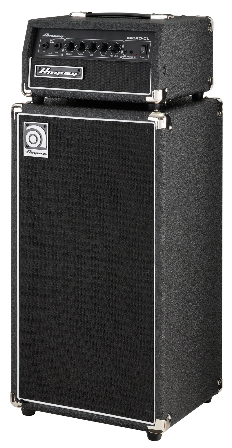 ampeg svt micro cl stack 100watt 2x10zoll solid state bass stack gitarre bass. Black Bedroom Furniture Sets. Home Design Ideas