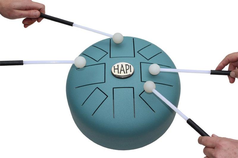 HAPI PMDP Mini Steeldrum D-Pygmy Schlitztrommel