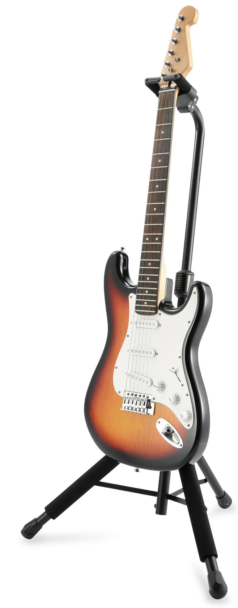 Eleganter Gitarrenwandhalter aus Holz von K/&M für Akustik und E-Gitarren