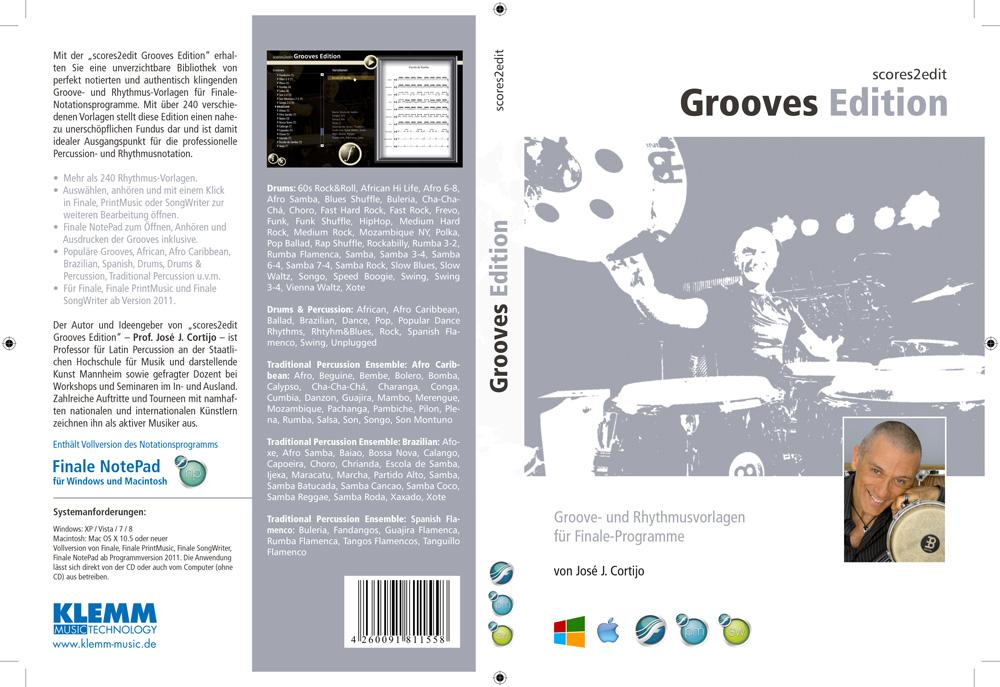 SCORES2EDIT Grooves Edition Rhythmus- und Groove-Vorlagen für Finale ...
