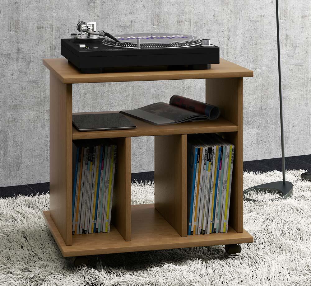vcm 911764 retal schallplatten m bel eiche rustikal. Black Bedroom Furniture Sets. Home Design Ideas