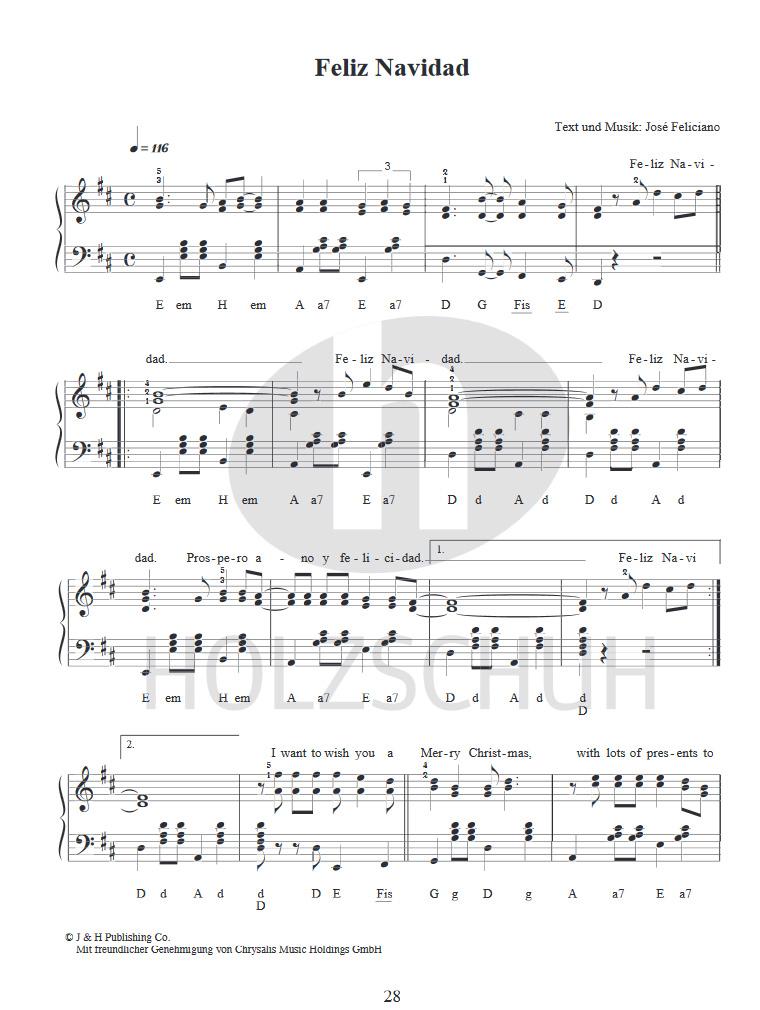 ANCORA Weihnachtslieder aus aller Welt Akkordeon Sammlung für das ...