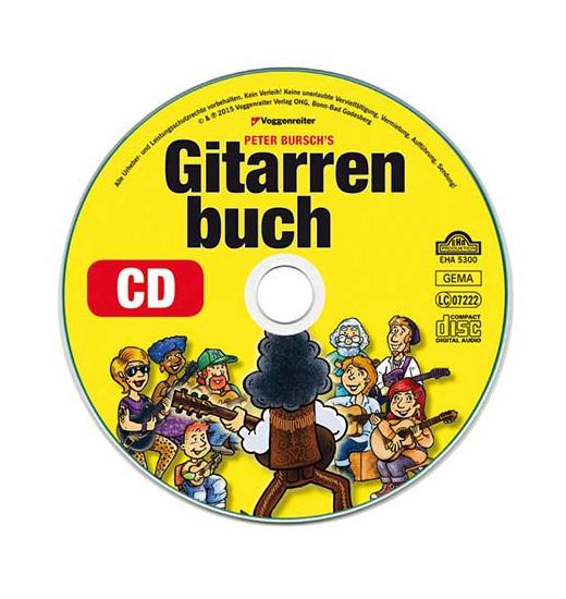peter bursch gitarrenbuch cd