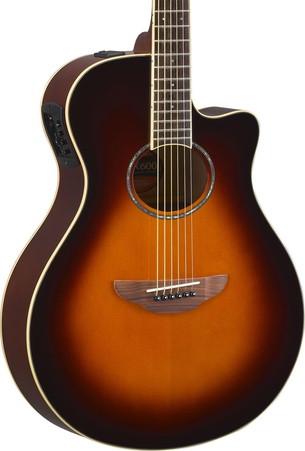 yamaha apx600 ovs elektro akustik gitarre old violin. Black Bedroom Furniture Sets. Home Design Ideas