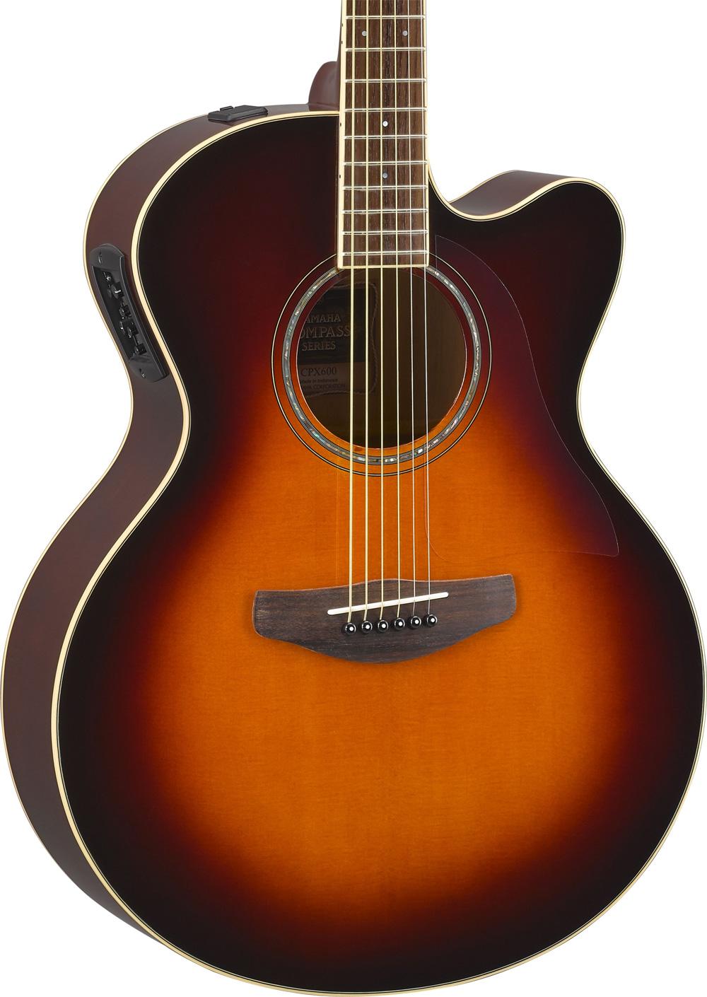yamaha cpx600 ovs compass jumbo elektro akustik gitarre. Black Bedroom Furniture Sets. Home Design Ideas