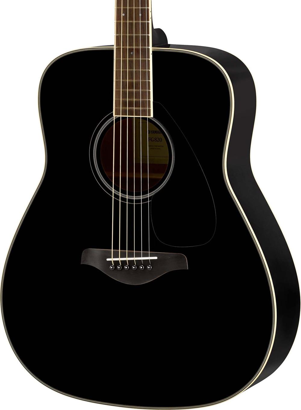 yamaha fg820 bl dreadnought akustik gitarre inkl gigbag. Black Bedroom Furniture Sets. Home Design Ideas