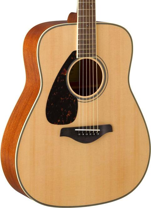 yamaha fg820 l nt dreadnought lefthand akustik gitarre. Black Bedroom Furniture Sets. Home Design Ideas
