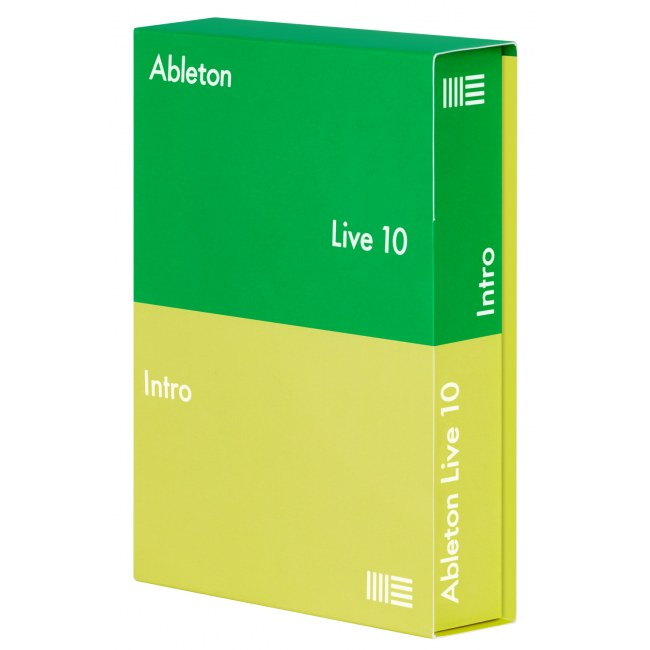 ABLETON Live 10 Suite UPG von Live Intro Sequenzer- und Producer-Software. (Download)