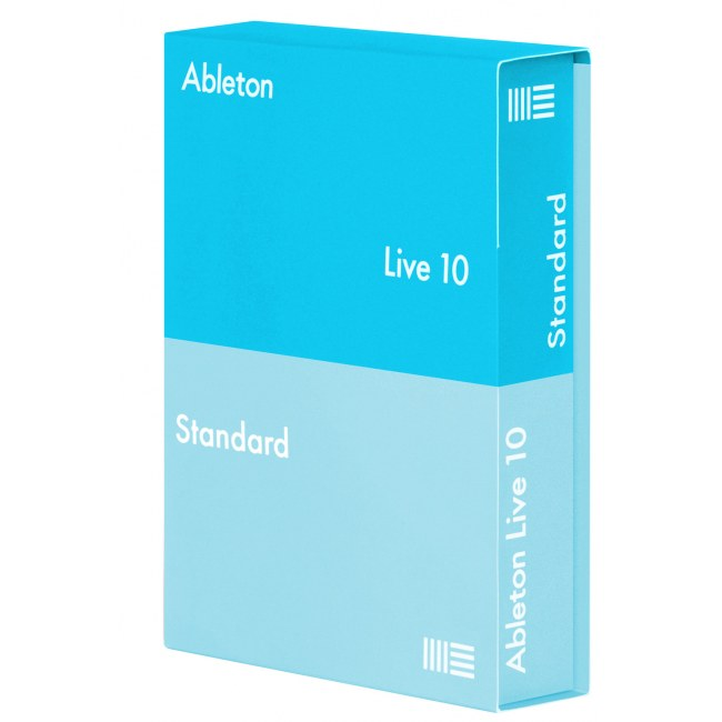 ABLETON Live 10 Standard (Box) Sequenzer- und Producer-Software.