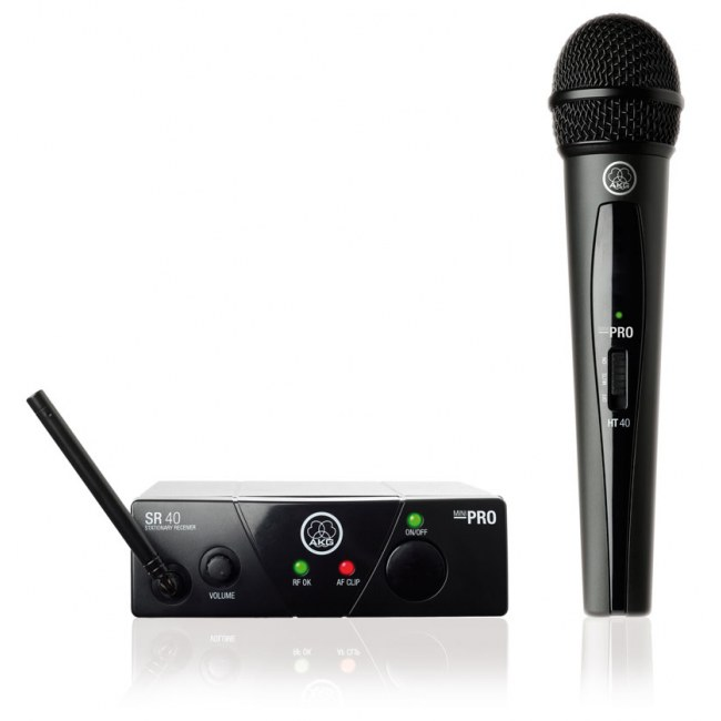 AKG WMS40 Mini Vocal Handheld Set UHF-Drahtlossystem