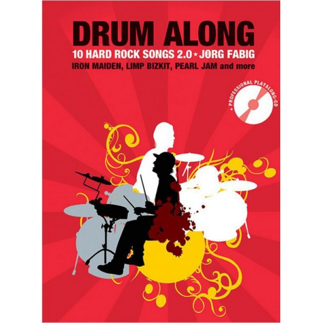 ANCORA Drum Along Vol. 8 10 Hard Rock Songs 2.0