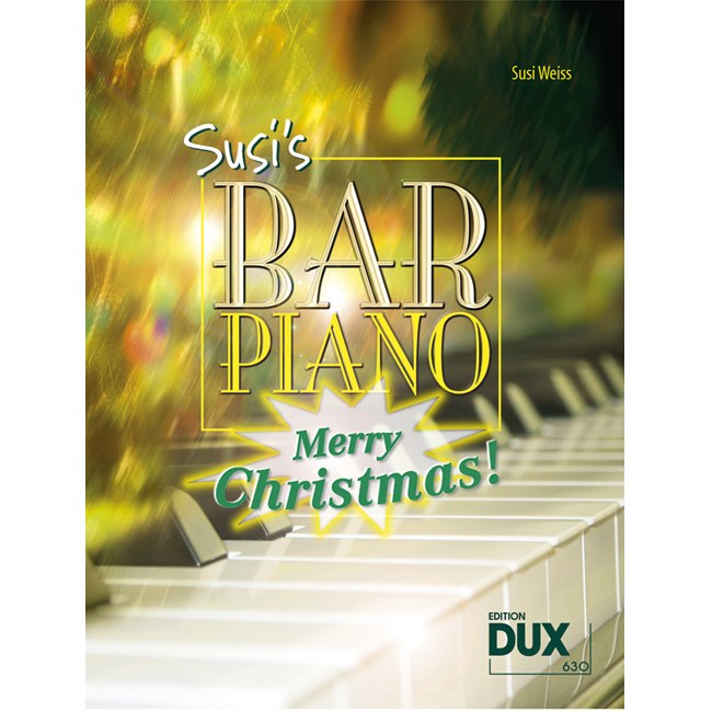 ANCORA Susis Bar Piano Merry Christmas, S. Weiss 20 Weihnachtslieder in jazziger Bearbeitung
