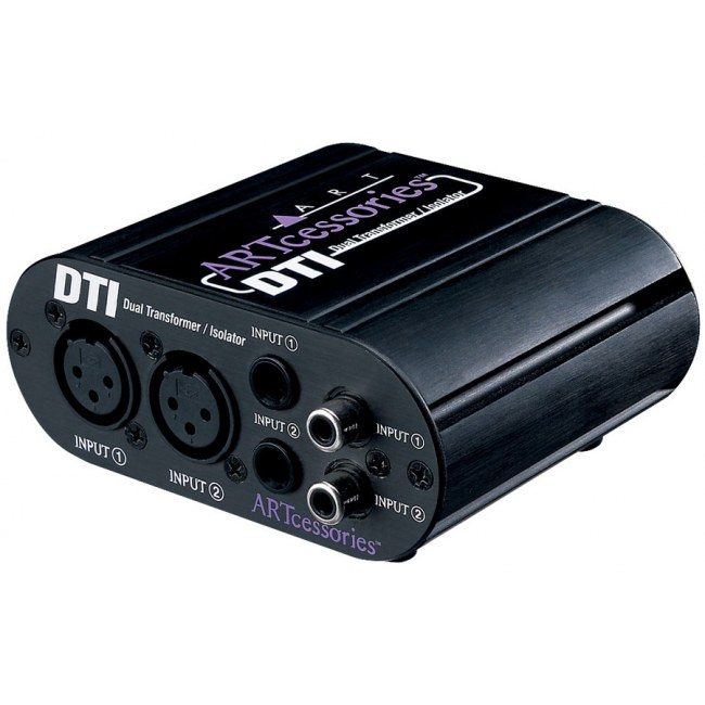 ART AUDIO DTI Dual Transformer Isolator Hum Eliminator