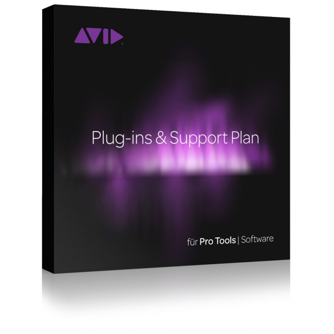 AVID Pro Tools Plug-Ins & Support Plan 12 Monate Activation Card für Pro Tools