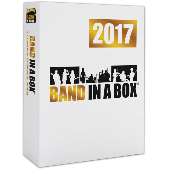 PG MUSIC Band-in-a-Box 2017 Pro PC EDU Schulversion