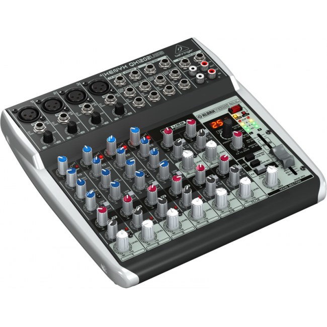 BEHRINGER Xenyx QX-1202 USB Kompaktmischpult mit USB Audio-Interface