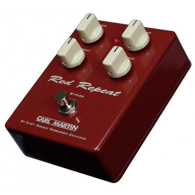 CARL MARTIN Red Repeat Vintage Delay Effektpedal