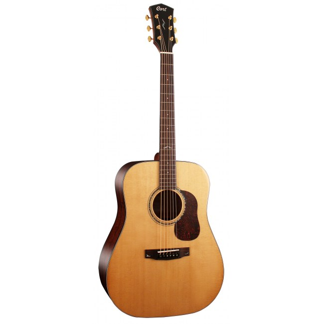 CORT GOD6NG Gold D6 Dreadnought Akustik-Gitarre inkl. Gigbag, natural