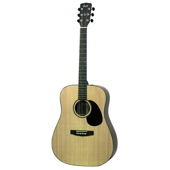 CORT Earth 100 NS Dreadnought Akustik-Gitarre, natur satin