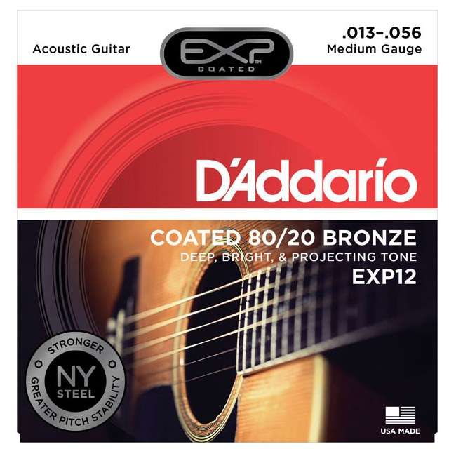 Daddario EJ36Light12-StringAkustikgitarrensaiten-Saiten