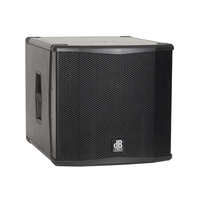 db technologies sub 15 h aktiv 1000w 15zoll pa subwoofer. Black Bedroom Furniture Sets. Home Design Ideas