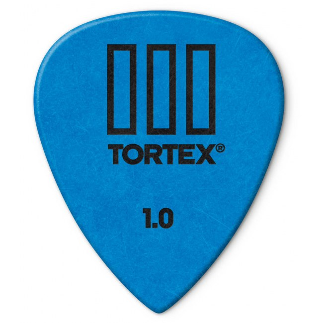 JIM DUNLOP 462P Tortex III Players 1,00mm Plektrum (Stück), blau
