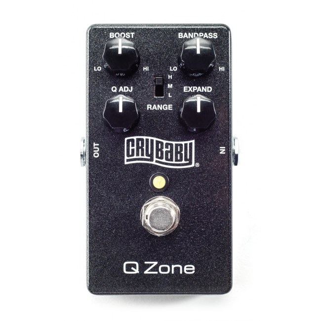 JIM DUNLOP CSP030 CryBaby Q Zone Fixed Wah Effektpedal