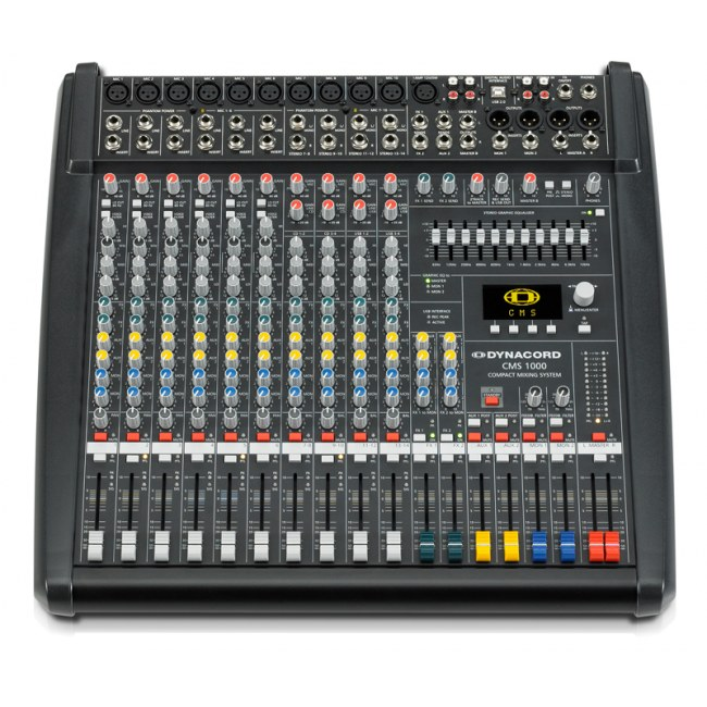 DYNACORD CMS-1000-3 FOH/Monitor-Mischpult inkl. Cubase LE