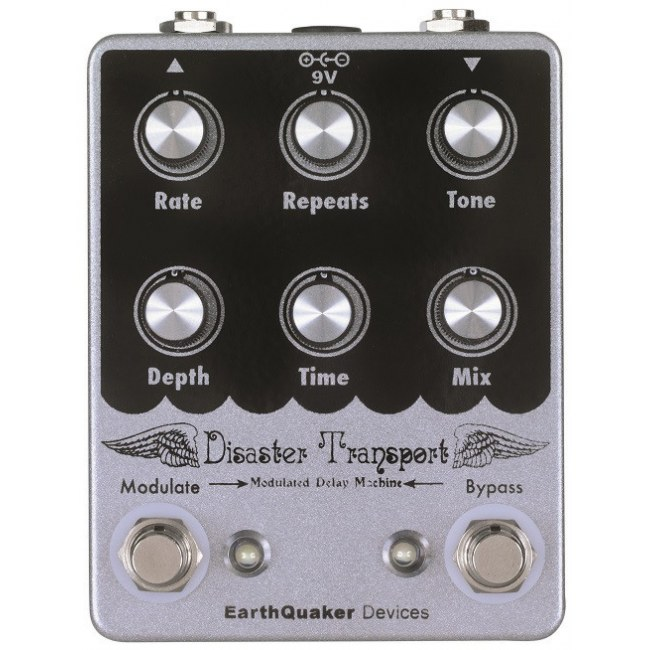 EARTHQUAKER Disaster Transport Delay Effektpedal