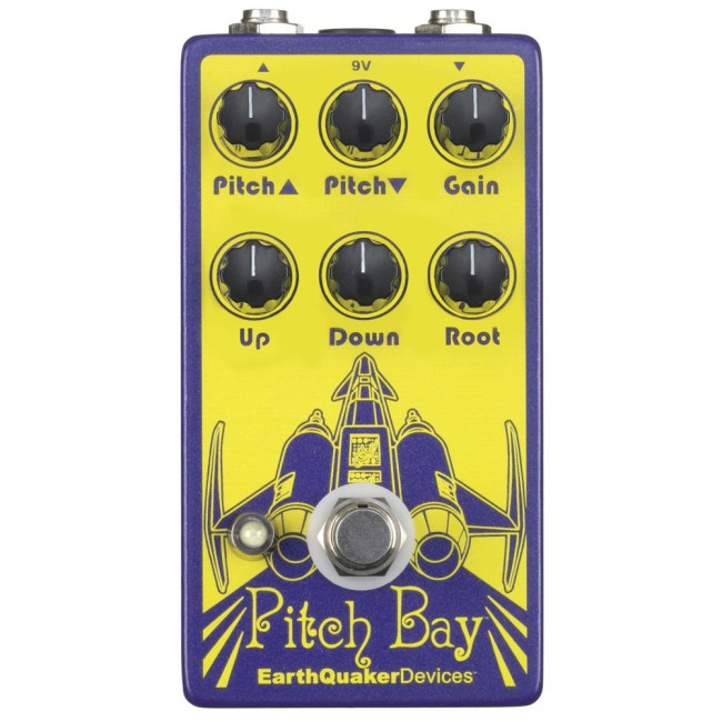 EARTHQUAKER Pitch Bay Harmonizer Effektpedal