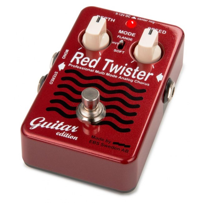 EBS Red Twister Guitar Edition Chorus DE Effektpedal