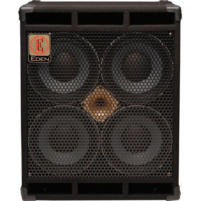 EDEN D-410 XLT4 World Tour Cabinet 700W/4x10Zoll Bassbox (4Ohm)