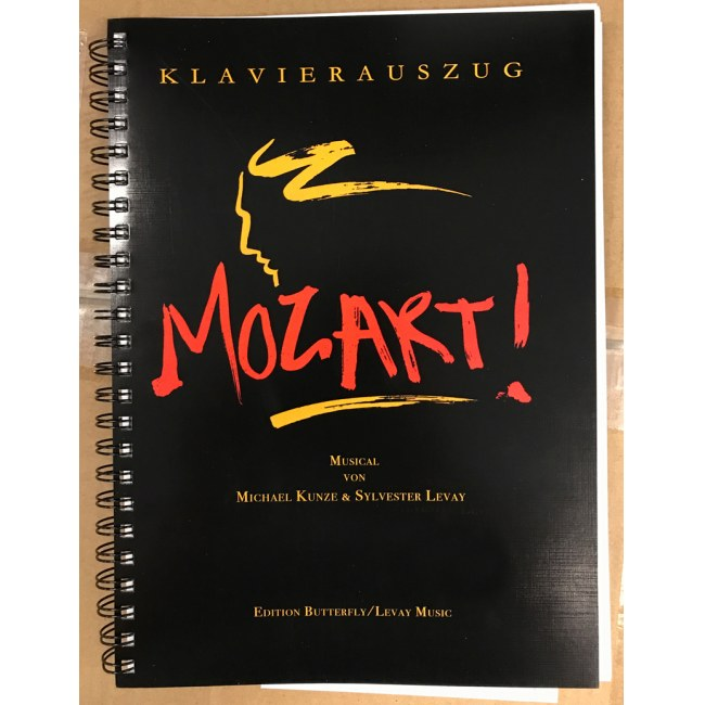EDITION BUTTERFLY Mozart! Musical Klavierauszug Alle Highlights des Kultmusicals