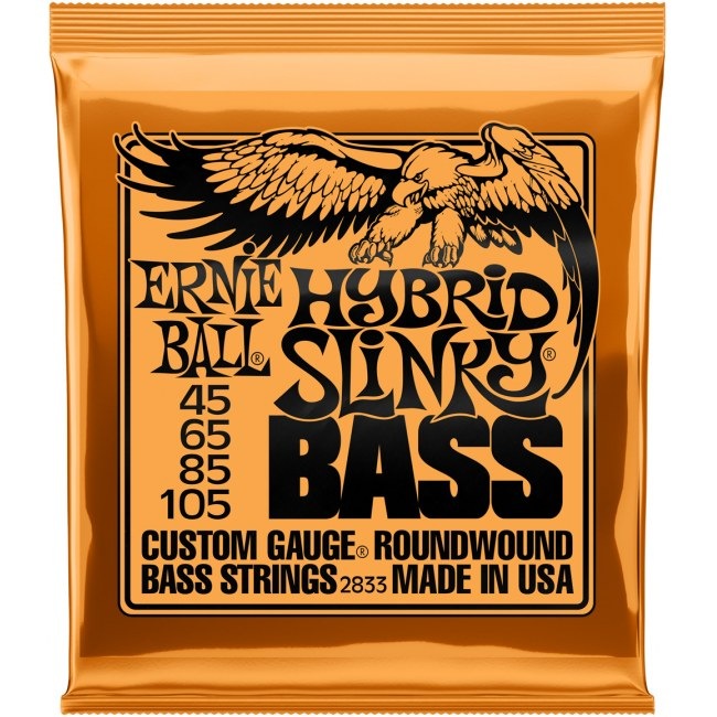 ERNIE BALL 2833 Slinky Bass Hybrid 045-105 Nickelwound Steel. Saiten für E-Bass
