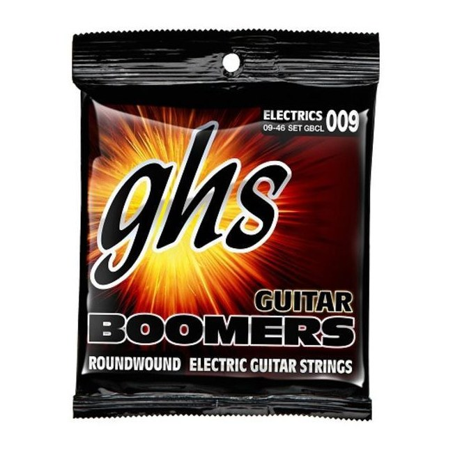 GHS GB-CL Guitar Boomers Custom Light 009-046 Nickel Plated Steel. Saiten für E-Gitarre