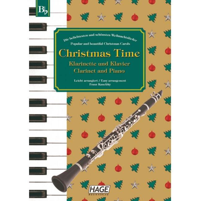 Bekannte Weihnachtslieder Kinder.Hage Christmas Time Klarinette Und Klavier Eh 1098 37 Bekannte Weihnachtslieder