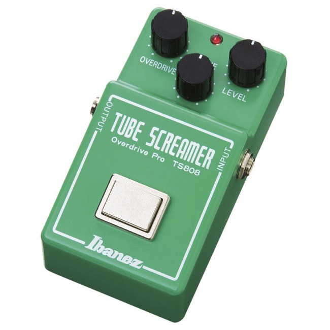 IBANEZ TS808 Tubescreamer Distortion Reissue Effektgerät