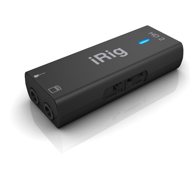 IK MULTIMEDIA iRig HD2 Guitar-to-iPhone Interface inkl. Software