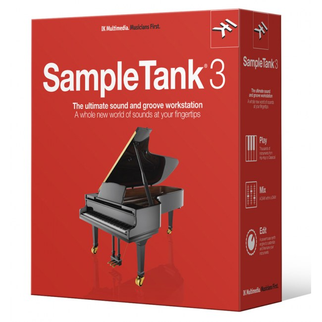 IK MULTIMEDIA Sampletank 3 Upgrade V.2 XL Software-Sampler PlugIn