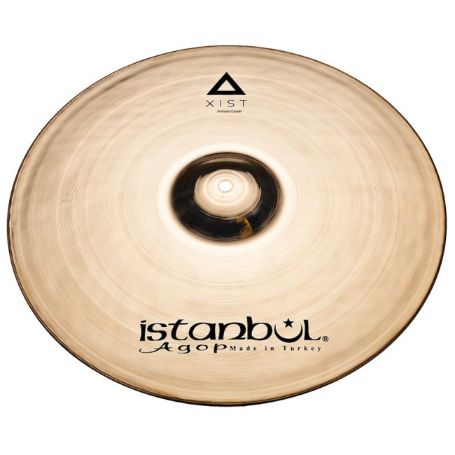 ISTANBUL AGOP Xist Brilliant Crash Cymbal 17 Xist Becken, brilliant