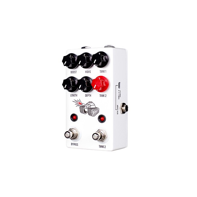 JHS PEDALS The Spring Tank Reverb Effektpedal