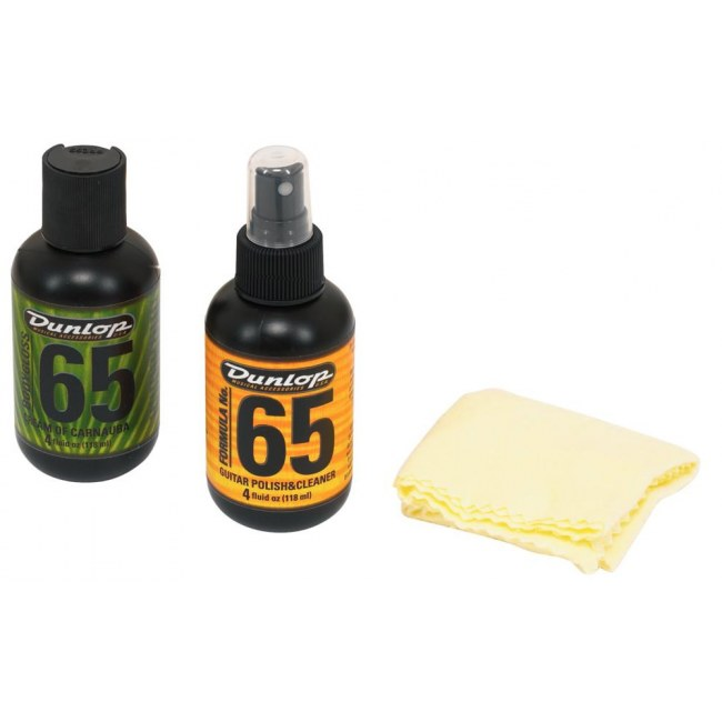 JIM DUNLOP 6501 Formula 65 Polish Kit Pflegemittel inkl. Tuch