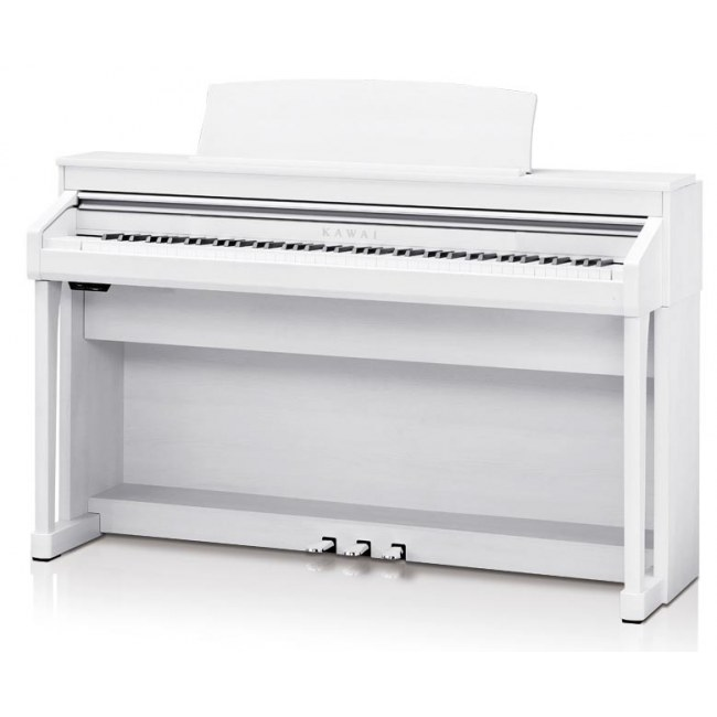 KAWAI CA 97 PWS Grand Feel II Digitalpiano, premium weiß satiniert