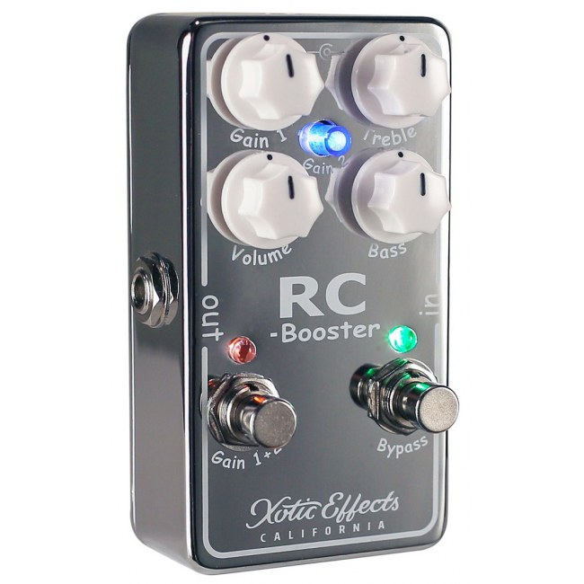 XOTIC RC Booster V2 Boost/Overdrive Effektpedal