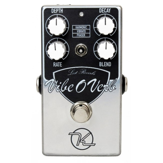 KEELEY Vibe-O-Verb Modulated Reverb Effektpedal